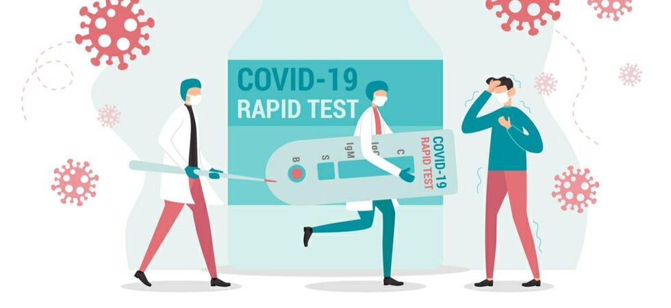 What is the rapid COVID antigen test?